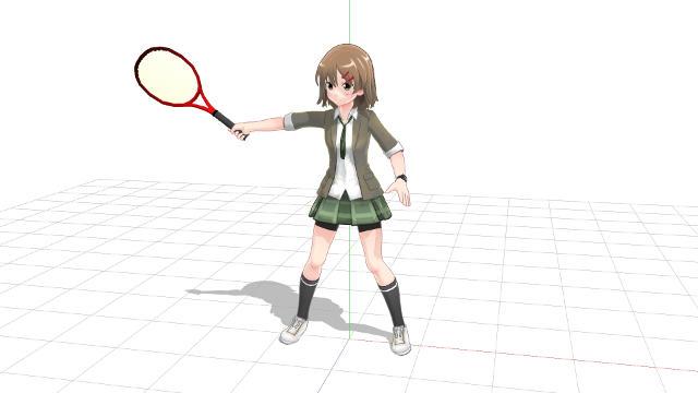 テニス 足が出ず手だけでボールを打ちに行く