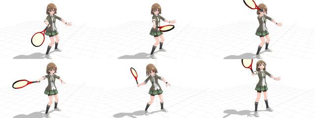 テニス 不安定な打ち方