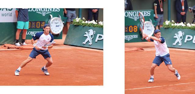テニス 回り込みフォアハンド