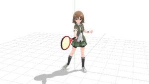 テニス フォアハンドストローク