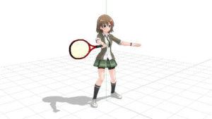 テニス フォアハンドストローク インパクト