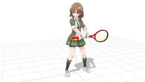 tenis backhand