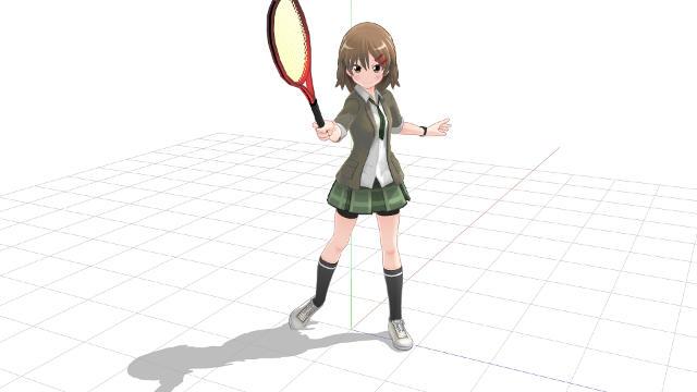 テニス コンチネンタルグリップで打つフォアハンド