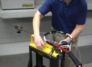 テニス ガット張り機