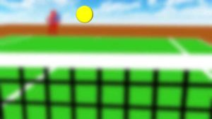 テニス 周辺視野で見る2