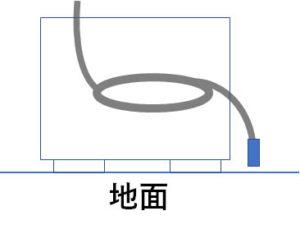 エアコン ポコポコ音 対策パーツ 設置例