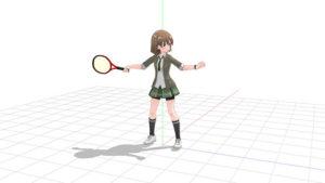 テニス フォアハンドストローク 1