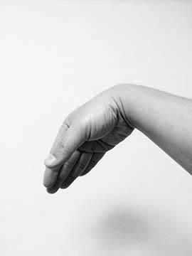 手首の掌屈