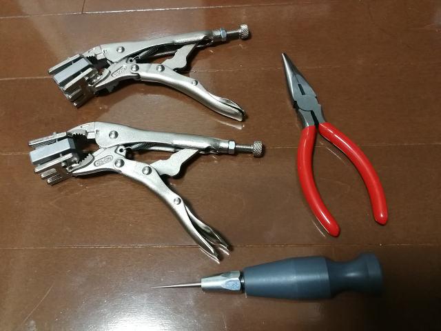 LIPPERMATE 付属工具類