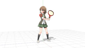 テニス バックハンドストローク 1