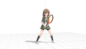テニス 構え