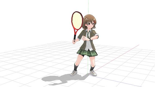 tennis forhand preparation
