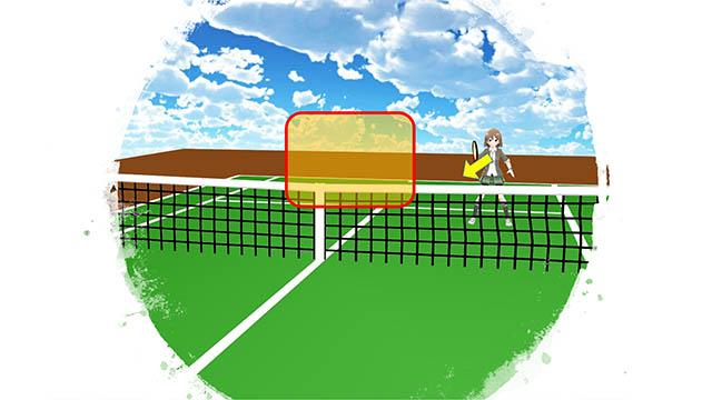 テニス ダブルス プレッシャーをかける前衛