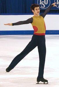 スケート スピン