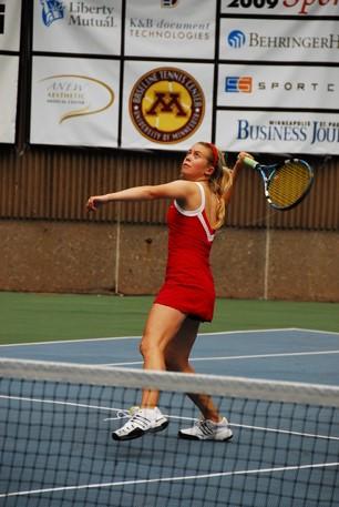 tennis overhead