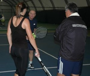 tennis teaching