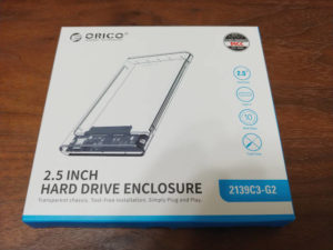 ORICO 2.5インチ USB-C HDD / SSDケース