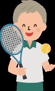 テニスを教える
