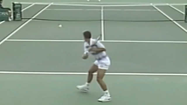 sampras backhand