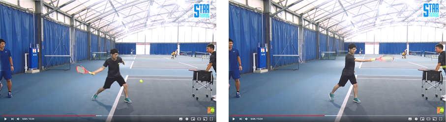 tennis beginner