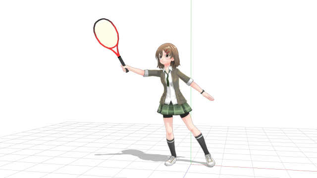 tennis volley